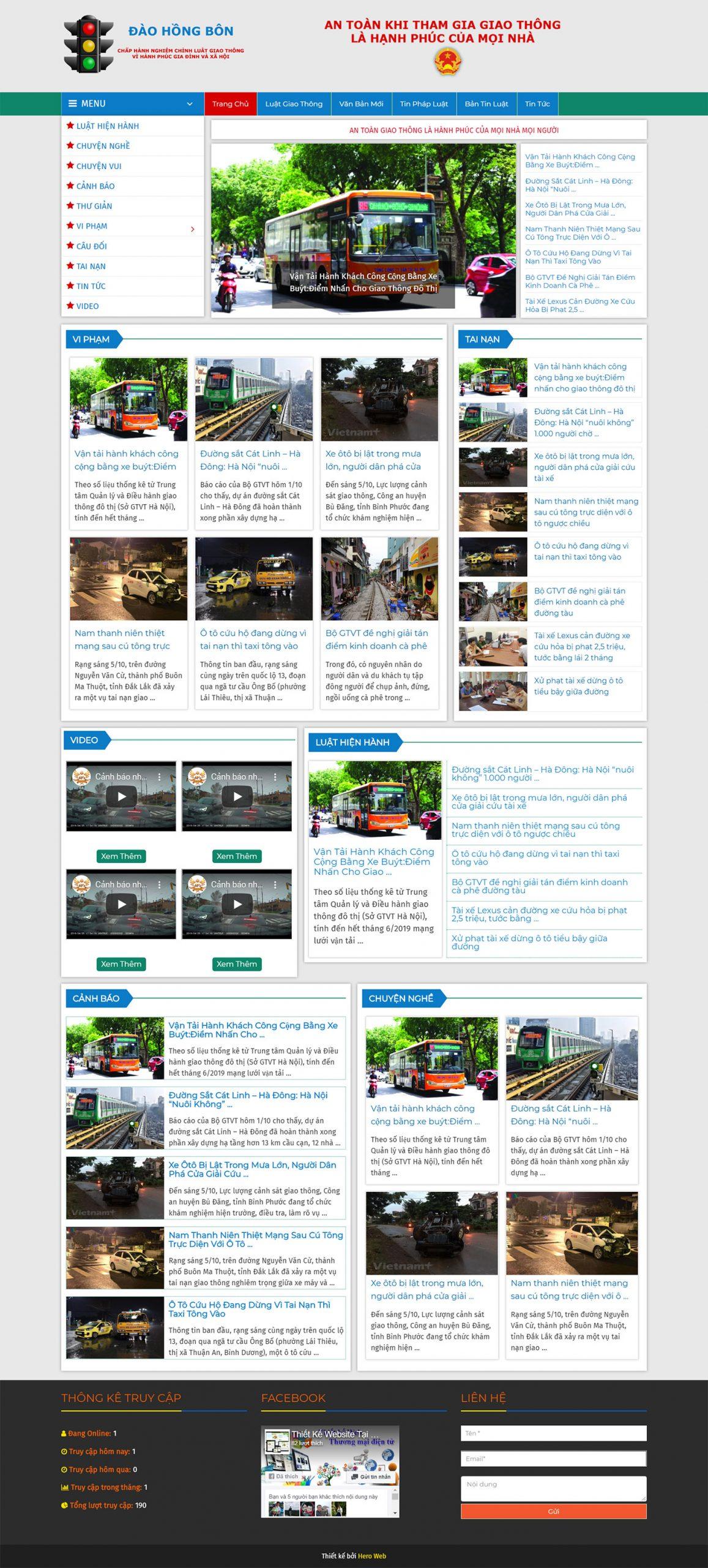 Thiết Kế Website Tin Tức Mẫu 1